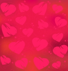 valentines day abstract vector image vector image