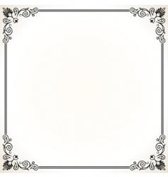 elegant vector frame vector image