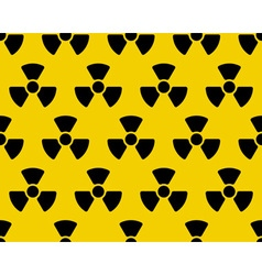 Radiation sign pattern vector