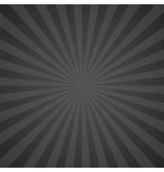 black and gray color burst background vector image