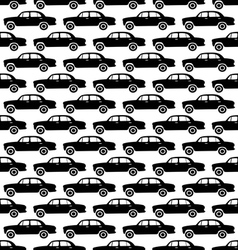 Car pattern1 vector image