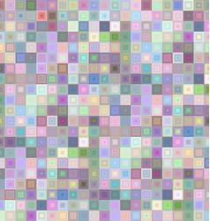 Light color square mosaic background design vector