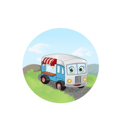 Trailer fast food vector