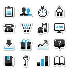 Web internet icons set - vector image