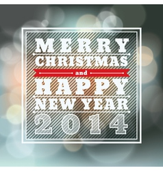 Merry christmas and happy new year background for vector