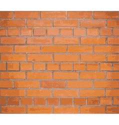 Background red brick wall eps10 vector