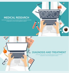 Medical flat background health carefirst aid vector