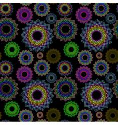 seamless geometrics vector image