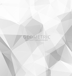 Abstract gray white background vector