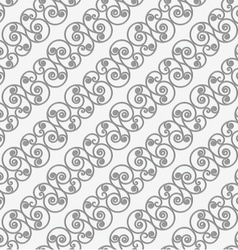 Perforated diagonal spiral flourish shapes small vector