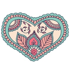 Beautiful Indian floral ornament can be used as a vector image