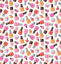 Nail polish pattern vector
