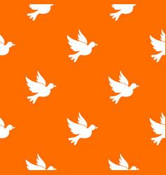 Dove pattern seamless vector