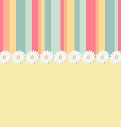 Spring greeting card vector