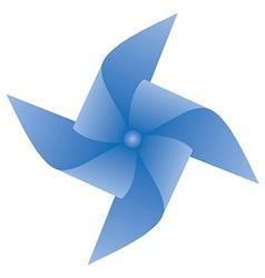 Paper windmill vector