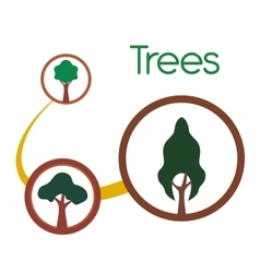 Tree icon design vector