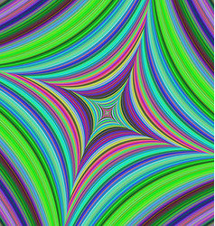Abstract psychedelic quadratic background design vector image vector image