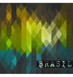 Brasil 2014 world soccer championship abstract vector