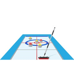 Curling 02 vector