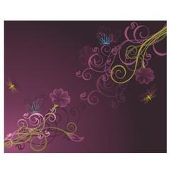 Floral background2 vector image