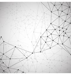 Molecular structure background vector