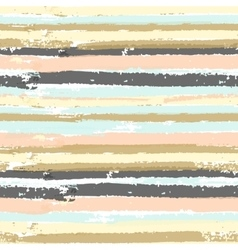 Seamless pattern with pastel paint stripes vector