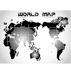 World map and earth globes 2 vector