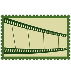 Film stamp vector