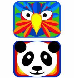 animal mask vector image