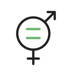 Gender Equality vector image