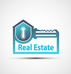 Logo of the real estate vector