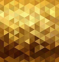 Gold pattern low poly triangle geometry fancy vector