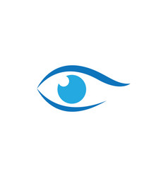 Branding identity corporate eye care logo design vector