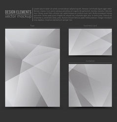 Design elements template vector