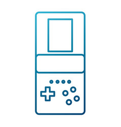 Tetris videogame isolated vector