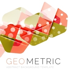 Geometrical minimal abstract background with light vector