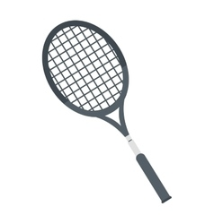 racket tennis equipment element icon vector image