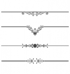 elegant vector design element vector image