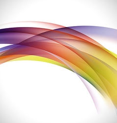 Abstract elegant colorful curve background vector