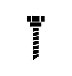 drilling machine icon black vector image