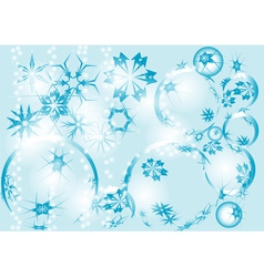 Blue festive background vector