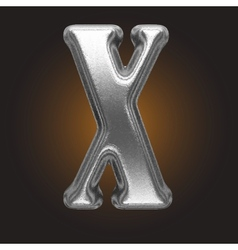 Metal figure vector