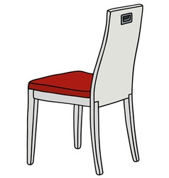 White chair vector