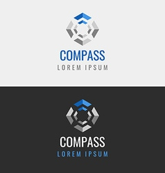Abstract geometric logo vector