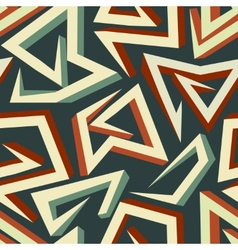 Arrows pattern vector