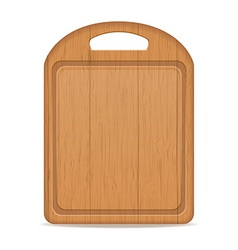cutting board 03 vector image vector image