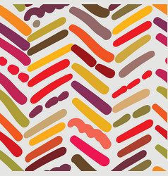 Herringbone textured seamless pattern with random vector
