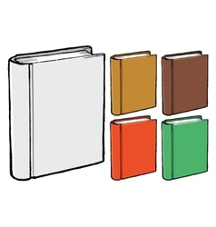 book covers vector image