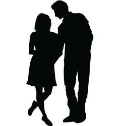 couple21 vector image