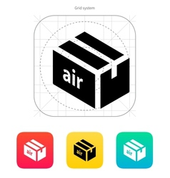 Air delivery icon vector